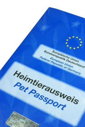 EU Heimtierausweis Golden Retriever