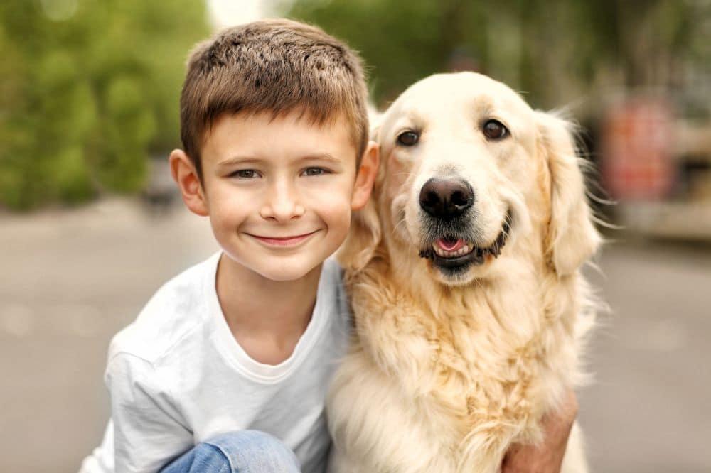 Verstehen sich Golden Retriever mit Kindern?